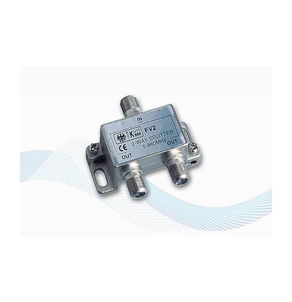 V9147 - 2 WAY SPLITTER FOR DVBT TV antennas