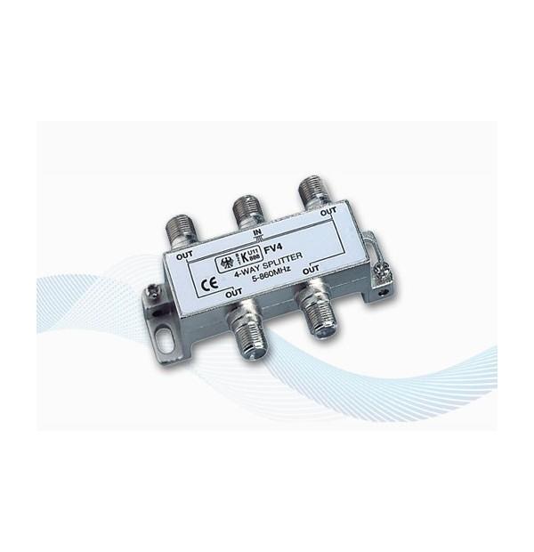 V9151 - 4 way splitter for DVBT TV Antennas