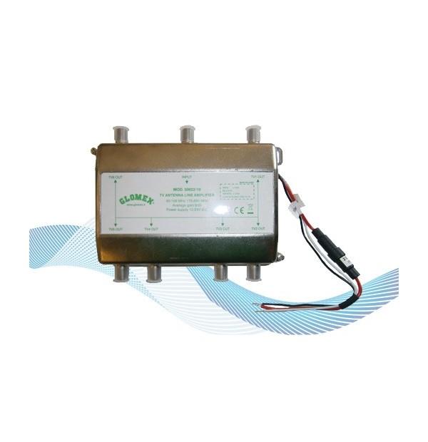 50022/10 - 6 outputs amplifier for DVBT TV antennas
