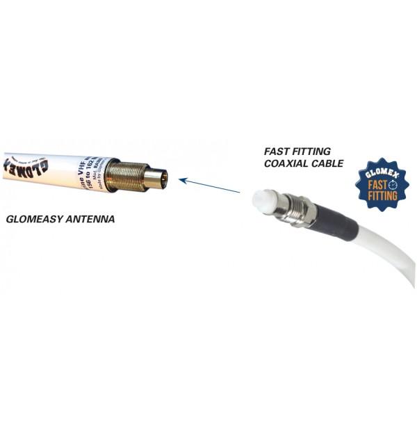 RA300AIS - Glomeasy line AIS antenna - 1,2m - term. FME